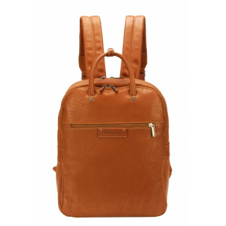 Arthur & Aston Johany Cognac Leather Backpack
