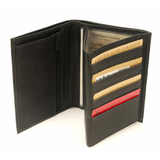 Arthur & Aston Johany Black Leather Men's Wallet