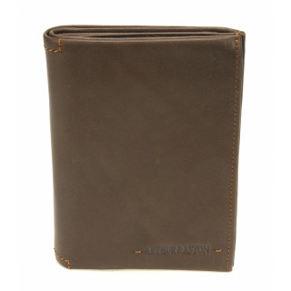 Arthur & Aston Johany Leather Chataigne Men's Wallet