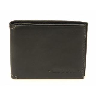 Arthur & Aston Johany Wallet Italian Black Leather