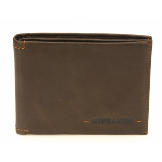 Arthur & Aston Johany Italian Leather Chataigne Wallet