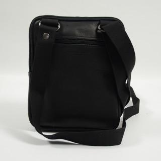 Jean Louis Fourès Baroudeur Bag Worn Cross F9327 Black