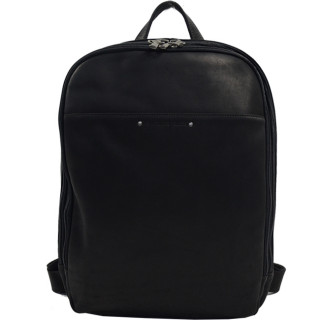 Jean Louis Foures Baroudeur Back Bag PC 14-inch Black