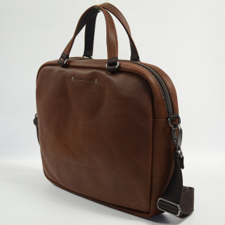 Jean-Louis Fourès Baroudeur Bag Business 9509 extra thin Cognac
