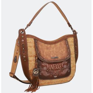 Anekke Bag hobo Western Camel