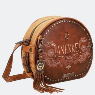 Anekke Crossbody Bag Western Camel Round