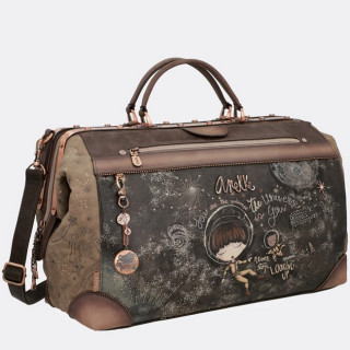 Anekke Leather Universe Cabin Travel Bag