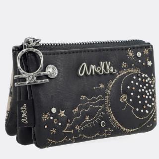 Anekke Universe Pochette-monnaie Noir