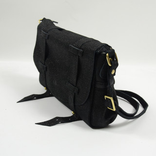 Mila Louise Mahe New L Black Hand Worn Bag