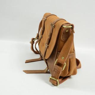 Mila Louise Oless X Crossbody Bag Spark Croute Camel
