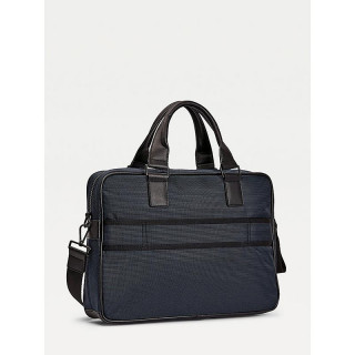 Tommy Hilfiger Elevated Polyester Recycled Polyester Computer Bag Desert Sky