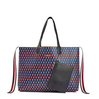 Tommy Hilfiger Iconic Bag Cabas Monogram Arizona Red