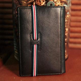 Serge Blanco Halifax Black Leather Wallet
