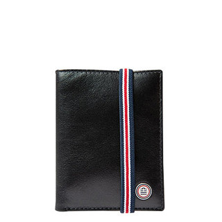 Serge Blanco Halifax Black Leather Card Holder