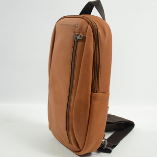 Jean Louis Fourès Baroudeur Backpack and Holster Fauve