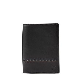 Serge Blanco Quebec Black Leather Wallet
