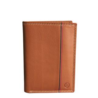 Serge Blanco Vancouver Portfolio 2 Volets Leather Cognac