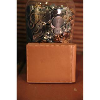 Serge Blanco Vancouver Italian Wallet 2 Volets Leather Cognac