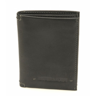 Arthur & Aston Johany Mini Black Leather Card Holder