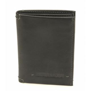 Arthur & Aston Johany Mini Porte-Cartes Cuir Noir