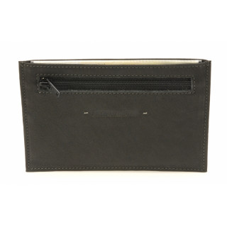Arthur & Aston Johany Black Leather Paper holder