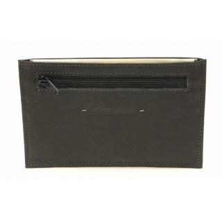 Arthur & Aston Johany Porte-Papier Cuir Noir