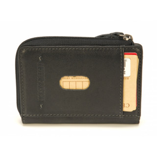 Arthur & Aston Johany Wallet Mint and Black Leather Card