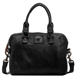 Biba Boston Bag A Hand Negro