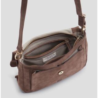 Biba Ryland Pocket and Small Bag Maron Bone Cross-Cross