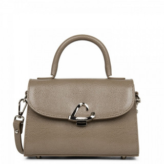 Lancaster Lucertola Mini Mole Leather Handbag