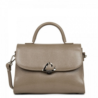 Lancaster Lucertola Grand Leather Mole Handbag