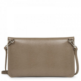 Lancaster Lucertola Taupe Leather Pocket