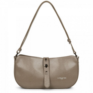 Lancaster Lucertola Taupe Leather Wand Bag