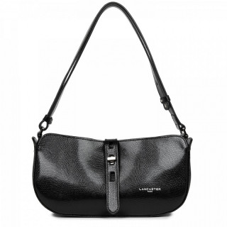 Lancaster Lucertola Black Leather Wand Bag