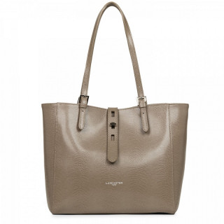 Lancaster Lucertola Cabas Leather Taupe Bag