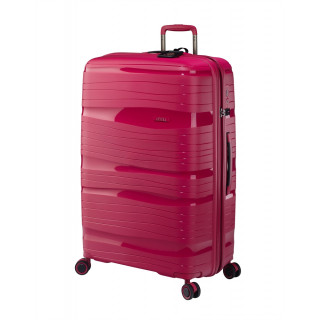 Jump Tenali Suitecase 77 cm Ultralight 4 Red WheelsFuschia