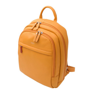 Jump Uppsala Leather Backpack Borne 38cm PC 13' Curry