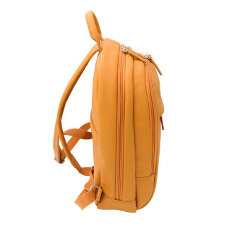 Jump Uppsala Cuir Sac à Dos Borne 38cm PC 13' Curry