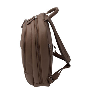 Jump Uppsala Leather Backpack Borne 38cm PC 13' Galet