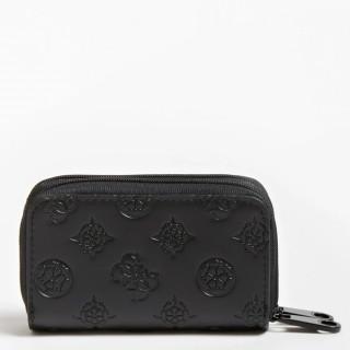 Guess Annabel Porte-monnaie Compact Noir
