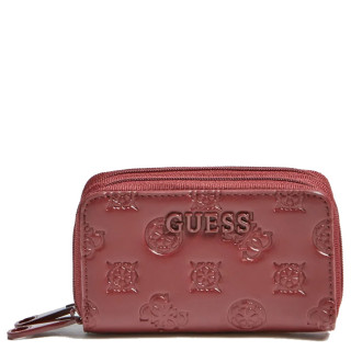 Guess Annabel Compact Burgundy Wallet