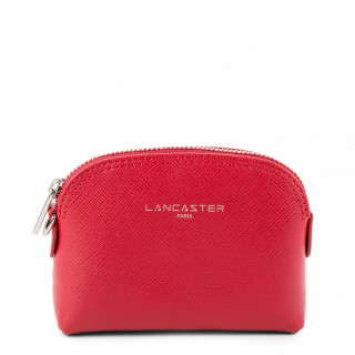 Lancaster Saffiano Signature Wallet 121-25 Red