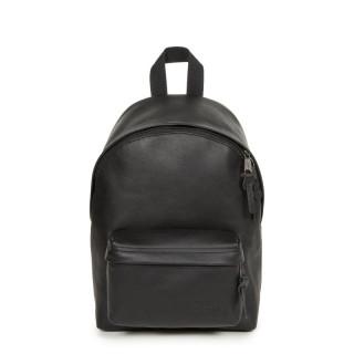 Eastpak Orbit XS Sac à Dos Cuir 64O Black Ink Leather