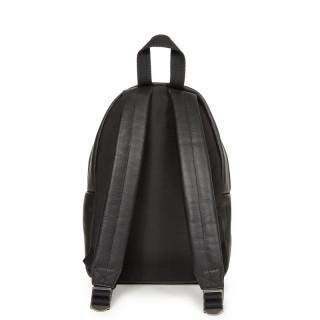 Eastpak Orbit XS Leather Backpack 64O Black Ink Leather