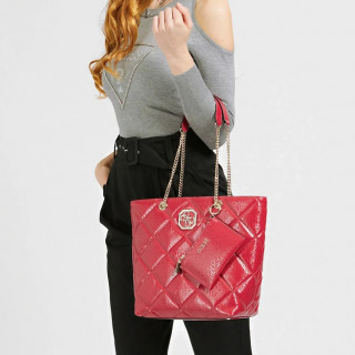 Guess Dilla Bag Shopping Red