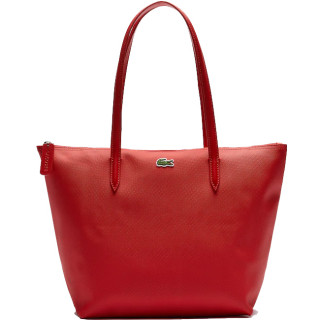Lacoste Cabas Zippé L12.12 Red Bag