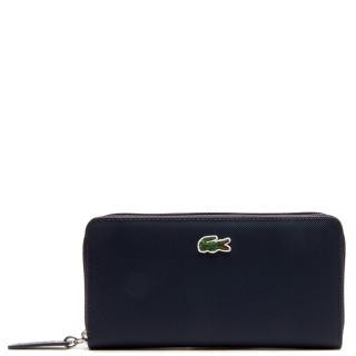 Lacoste Wallet Large zip L12.12 Penombre