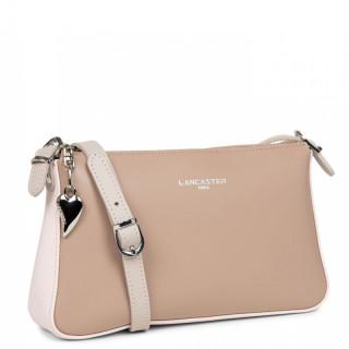 Lancaster Constance Bag Pocket 437-01 Nude Rose-Galet Rose