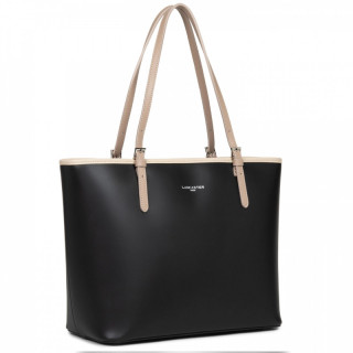 Lancaster Constance Shopping 437-08 Black Nude-Clair Nude-Fonce