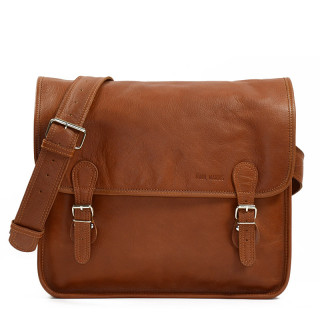 "Paul Marius LaSacoche L Briefcase Laptop 15"" Natural"